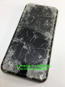 iPhone6 ガラス割れ アウトカメラ故障
