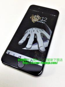 iPhone6 セルフ修理後の電源ボタン交換