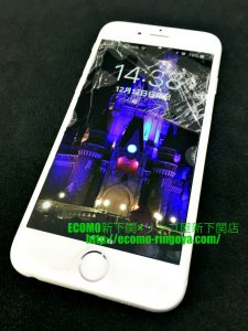 iPhone6 ガラス割れ 液晶交換