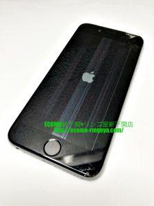 iPhone6 画面割れ 液晶内部不良 液晶交換