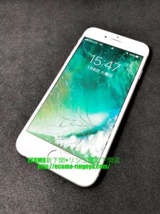 iPhone6 画面割れ 液晶交換