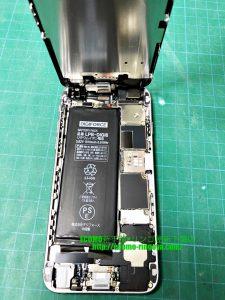 iPhone6 水没修理 + バッテリー交換