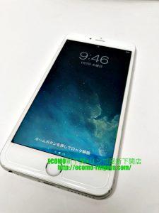 iPhone6sPlus バッテリー交換 ドックコネクター交換