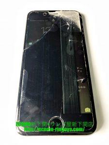 iPhone6s 画面割れ 液晶不良